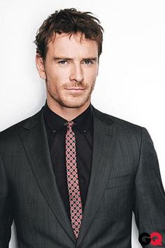 gonna write an ode to skinny ties. And Michael Fassbender
