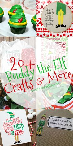 These 20+ Buddy the Elf crafts and more are sure to brighten your Christmas! Party ideas, printables, crafts, recipes, and more! School Christmas Party, Christmas Party Themes, Office Holiday Party, Christmas 2019, Christmas Movies, Christmas Elf, Xmas Party, Christmas Stuff, Christmas Crafts