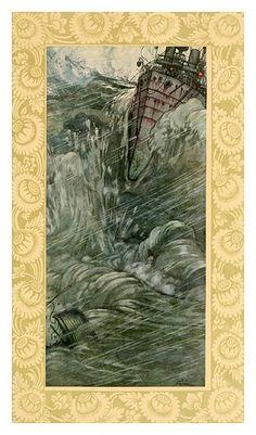 027-Hong Kong-A song of the English (1909)- William Heath Robinson