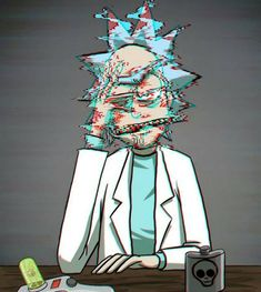 Glitchy Rick((Rick and Morty)) Related Post 《Rick and Morty / Mr. Meeseeks》 Yaoi images of Rick and Morty (Rick × Morty). Rick and Morty season Cartoon Wallpaper, Trippy Wallpaper, Iphone Wallpaper, Rick And Morty Image, Rick I Morty, Trippy Rick And Morty, Rick And Morty Quotes, Rick And Morty Poster, Cartoon Cartoon