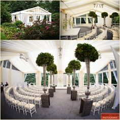 Tented Summer Wedding at a Private Estate with The Catered Affair