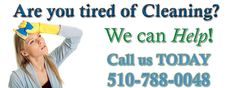 Start your week with regular house cleaning in Hayward!!!....