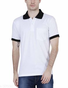 Tshirts Elegant Men's Solid Cotton Tshirt Fabric: Cotton Sleeves: Short Sleeves Are Included Size: SM L XL XXL ( Refer Size Chart ) Length- Refer Size Chart Type: Stitched Description: It Has 1 Pieces Of Men's T- Shirt's  Pattern: Solid Country of Origin: India Sizes Available: Free Size, XS, S, M, L, XL, XXL   Catalog Rating: ★4 (387)  Catalog Name: Everyday Elegant Mens Solid Cotton Tshirts Vol 3 CatalogID_161229 C70-SC1205 Code: 803-1270027-429
