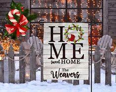 Adorable Snowman Garden Flag or Door Hanger.Perfect this holiday season. Christmas Garden Flag, Garden Flags, Door Hangers, Burlap, Applique, Sweet Home, Monogram, Bows, Unique Jewelry