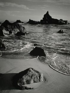 Ansel Adams - California Coast, Monterey County