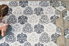 Quintessenza Ceramiche Alchimia Alchimia-Quintessenza-3 , стиль Пэчворк, Гостиная, Керамогранит, напольная, Матовая, Неректифицированный, Разнотон V2