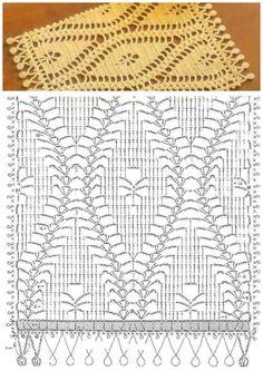crochet stitch diagrams - Google Search