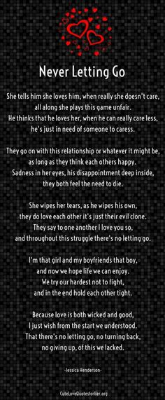 8 Most Troubled Relationship Poems for Him / Her