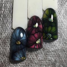 Жидкие цветы. http://www.nayada-nails.com/courses/jidkie-cveti