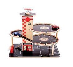 HaPe Toys Educo Eco-Friendly Park'n Go Garage