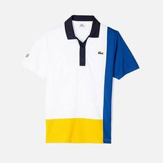 g New T Shirt Design, Shirt Designs, Polo T Shirts, Sports Shirts, Mens Half Sleeve, Corporate Uniforms, Lacoste Polo, Designer Clothes For Men, Mode Vintage