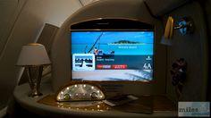 Meine Suite - Check more at https://www.miles-around.de/trip-reports/first-class/emirates-airbus-a380-800-first-class-bangkok-nach-hong-kong/,  #A380-800 #Airbus #Airport #avgeek #Aviation #Bangkok #BKK #Dusche #Emirates #EmiratesLounge #FirstClass #Flughafen #HKG #HongKong #Lounge #Suite #Trip-Report