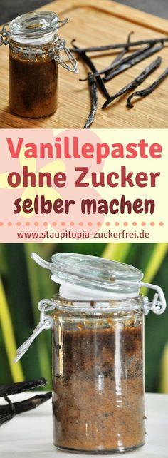 Vanillepaste kannst du ohne Zucker aus nur 2 Zutaten ganz einfach selber machen. Egal ob Kuchen, Gebäck oder Plätzchen, mit dieser Vanillepaste verfeinerst du jedes Rezept.