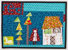~ tutorial ~ Grandma's House improv quilt.    From the 2014 Little Quilts book by Sarah Fielke and Amy Lobsiger