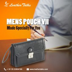 Dopp kit is very vital when you are travelling. Dopp kits need to be very sturdy and at the same time long lasting. Have a look at this Mens Pouch VII. Sleek yet stylish with multiple slots to keep all your travel necessities secured. http://leathertalks.com/product/mens-pouch-vii/