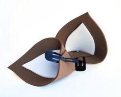 Clip In Ears Deer Ears Reindeer Ears Deluxe by BrandiMillerArt