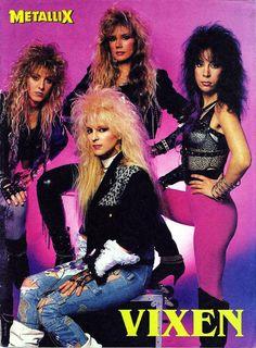 Big Hair - The 80 Greatest Fashion Trends Rock And Roll, Rock & Pop, 80s Rock Fashion, Metal Fashion, 80s Glam Rock, Rocker Costume, Rock Internacional, Big Hair Bands, 80s Hair Metal
