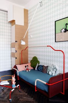 the boo and the boy: eclectic kids' rooms