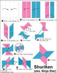 Shuriken Origami En.Origami-Club - http://www.ikuzoorigami.com/shuriken-origami-en-origami-club/