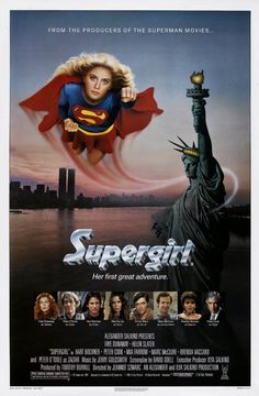 After losing a powerful orb, Kara, Superman's cousin, comes to Earth to retrieve it and instead finds herself up against a wicked witch. #SuperGirl #Movie #DCComics #HelenSlater #FayeDunaway #PeterOToole #JeannotSzwarc #Toronto #NY #LA #LONDON #AMPTalent