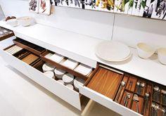 Bulthaup drawers www.bulthaupsf.com #bulthaup #kitchen #design