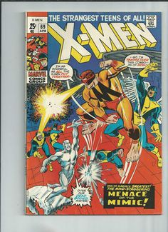 UNCANNY X-MEN #69 Bronze Age 52-page giant from Marvel Comics! http://r.ebay.com/aAH8uY