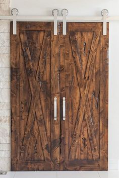 Our Bi Parting Door and Hardware System is state of the art and is available with any of our Hanger Styles and / or Doors. Designed & Crafted entirely in the USA.