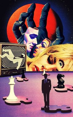 Truce And Hallucination Of The Coexistence. Surreal Mixed Media Collage Art By Ayham Jabr. Pop Art Collage, Surreal Collage, Collage Art Mixed Media, Surreal Art, Collages, Retro Kunst, Retro Art, Vintage Art, Art Inspo