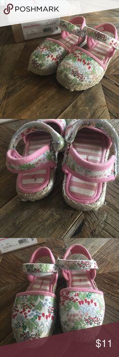 Hanna Andersson espadrilles Worn a few times. Slight wear, but lots of life left! Original box. Hanna Andersson Shoes Sandals & Flip Flops