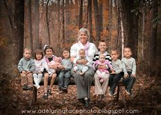 Grandmother w/ Grandchildren-Adelynn Grace Photography #pose #grandkids #photography #family