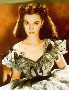 """""""Scarlett O'Hara""""  only Vivian Leigh could pull off this vixens charm"""