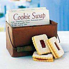 cookie swap, recipe swap