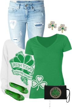 435fbc82c867 164 Best St. Patrick's Day outfit images | Ootd, Outfit of the day ...