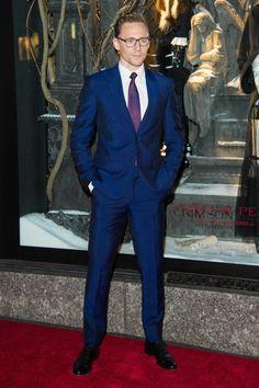 Tom Hiddleston at Bergdorf Goodman in NYC 10/13/15
