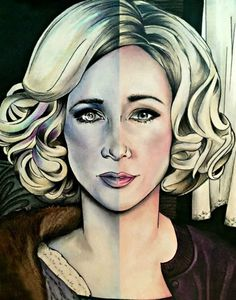 """It's the hardest thing of all to let go of someone you love"" - Norman Bates Bates Motel Tv Show, Norma Bates, Vera Farmiga, Bates Family, Actress Jessica, The Best Films, Drawing Techniques, Horror Movies, Poster"