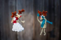 unusual holiday handmade crafts, reindeer 3