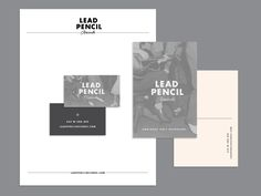 Lead Pencil Stationery