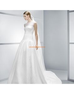 Luxuriöse ärmelose Princess-Stil Brautkleider Vestidos de novia - Jesús Peiró