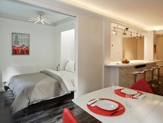 Millennial Transforms Upper East Side Pad With Dramatic, Tech-Friendly Renovation - Curbed NY