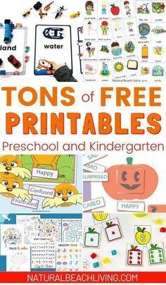 Ocean Activities, Pre K Activities, Printable Activities For Kids, Preschool Printables, Alphabet Activities, Preschool Worksheets, Hands On Activities, Learning Activities, Free Printables