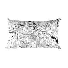 Ann Arbor Pillow, Ann Arbor Decor, Ann Arbor Throw Pillow, Ann Arbor Gift, Ann Arbor Map, Ann Arbor Art, Ann Arbor MI, Throw, Cushion