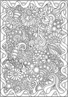 Creative Haven Dream Doodles Dover Publications Samples