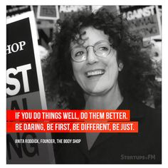 Successful #women Anita Roddick