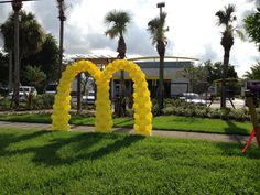 Another McDonalds balloon arch. Grand Opening 2013.