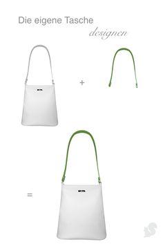 c76f0fcd4c9b4 Die eigenen Handtasche designen in 2 Schritten  1. Basic-Variante  aussuchen. 2