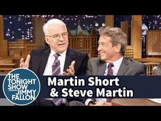 The Tonight Show Starring Jimmy Fallon: Martin Short and Steve Martin Describe First Meeting on ¡Three Amigos! Jimmy Fallon Videos, Martin Short, True Confessions, Steve Martin, Funny Pranks, Funny People, Funny Kids, Funny Posts, Comedy