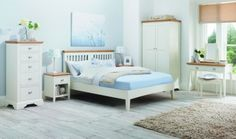 Bentley Designs Hampstead Two Tone Wardrobe - Double Country living with a contemporary twist, a perfect blend of traditional and modern styles, Hampstead bedroom is a timeless range that offers elegance and practicality.