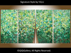 72 Huge Painting Abstract Painting Contemporary by QiQiGallery, $1,645.00