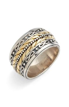 Konstantino 'Orpheus' Etched Band Ring available at #Nordstrom