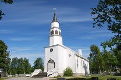 Alta church, built in 1858, Norway